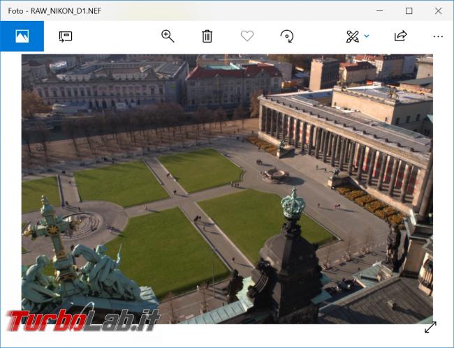 Come aprire foto Raw PC Windows 10 (file .nef, .dng, .cr2, .cr3, .crw, .dng) - zShotVM_1549209855