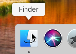 Come aprire terminale/Prompt comandi Mac (macOS High Sierra) - macos apri finder dock