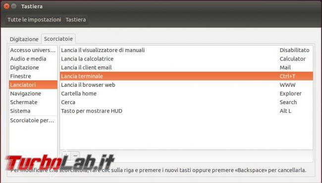Come aprire terminale Ubuntu