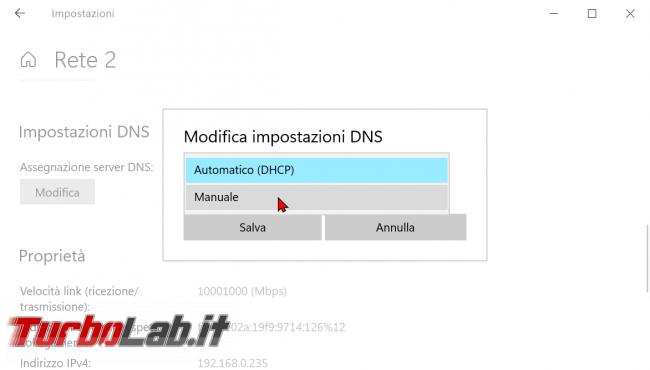 Come attivare DNS over HTTPS (DoH) PC Windows 10 crittografare risoluzione nomi dominio - zShotVM_1620401858