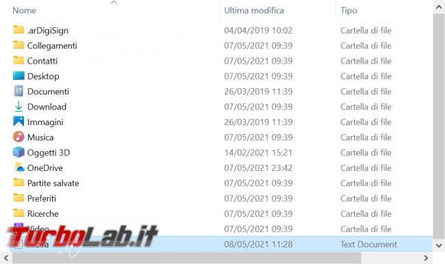 Come attivare Visualizzazione compatta Esplora file Windows 10 ridurre padding - zShotVM_1620482403