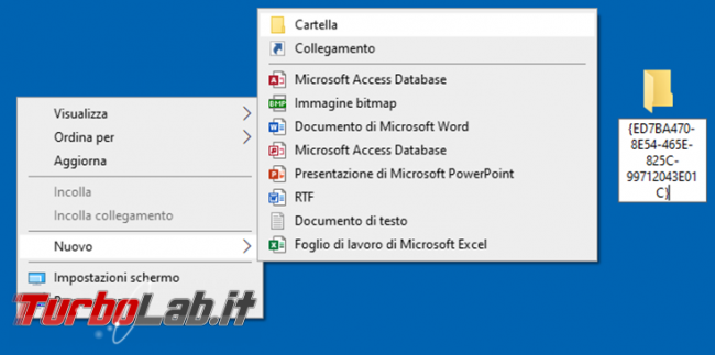 Come attivare Windows God mode accedere più velocemente configurazioni Windows 10