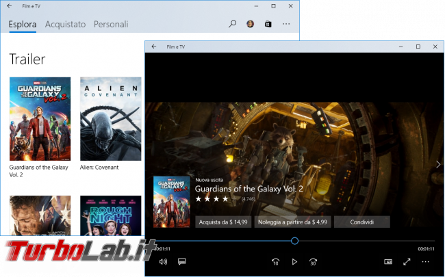 Come attivare Windows Sonic ed ottimizzare resa sonora Windows 10 Audio Surround spaziale - windows 10 film e tv trailer