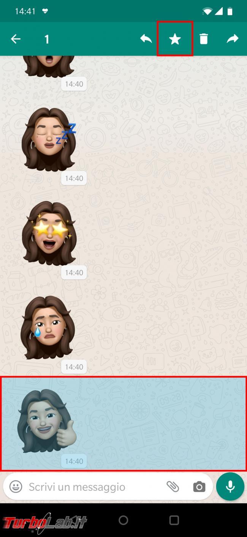 Come avere memoji iPhone Android (WhatsApp)