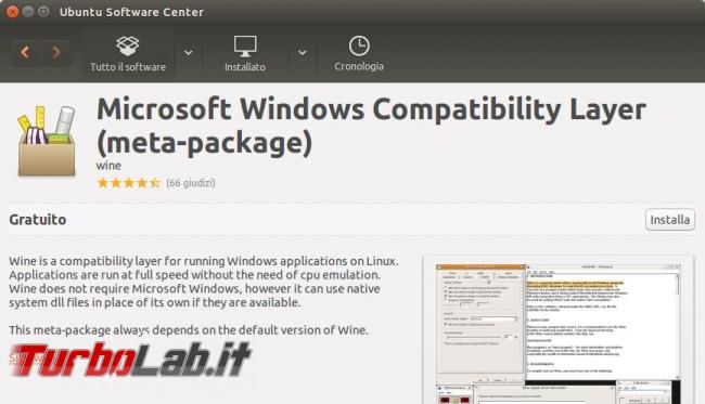 Come avviare programmi Windows Ubuntu grazie Wine