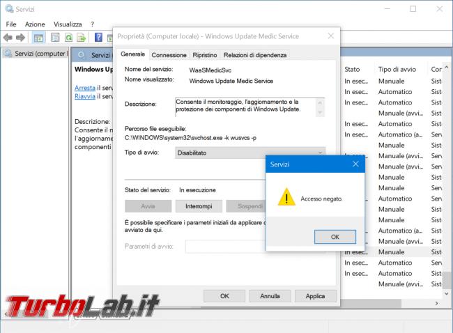 Come bloccare aggiornamenti automatici Windows 10 (disattivare Windows Update) - zShotVM_1585484405