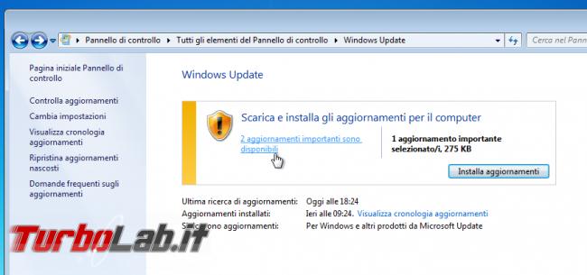 """Come bloccare avviso """" supporto Windows 7 sta finire"""" (guida)"""