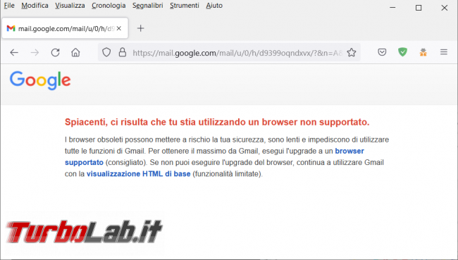 Come cambiare l'user agent browser l'estensione User Agent string switcher