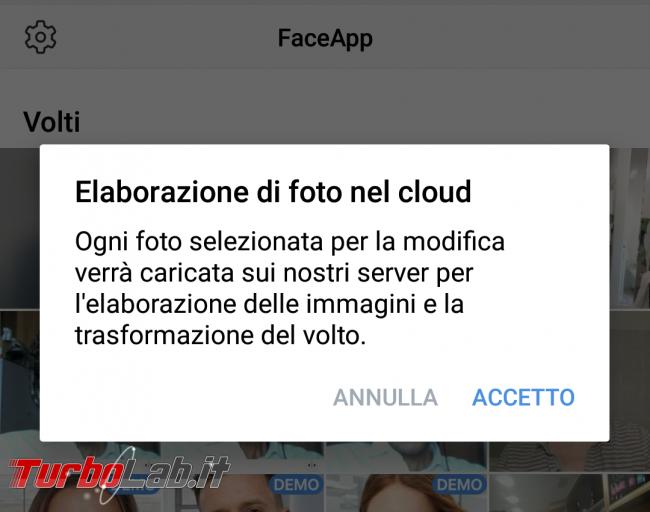 Come cancellare foto FaceApp (guida)
