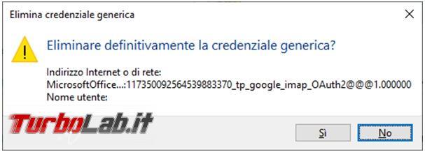 Come cancellare password memorizzate Outlook Skype Business se non vi lasciano più accedere