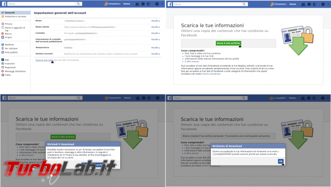 Come cancellarsi completamente Facebook