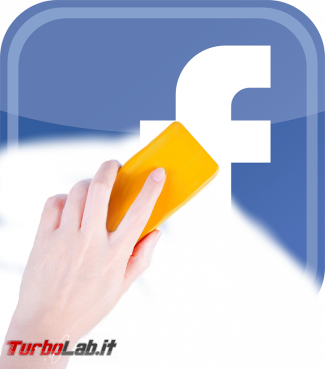 Come cancellarsi completamente Facebook