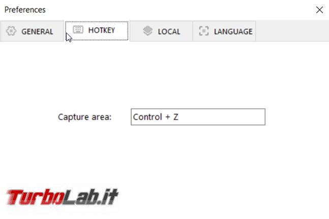 Come catturare testo immagini programmi visualizzati desktop