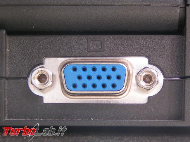 Come collegare PC portatile USB Type-C porta VGA (schermo, proiettore, TV)