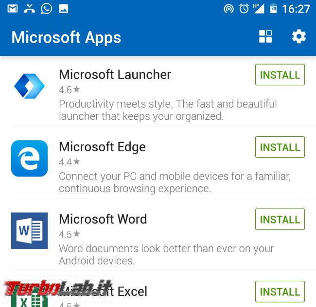 Come collegare PC Windows 10 telefono (smartphone) Android: guida rapida Microsoft Apps - Microsoft apps app list