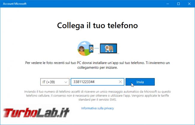 Come collegare PC Windows 10 telefono (smartphone) Android: guida rapida Microsoft Apps - Mobile_zShot_1534338000
