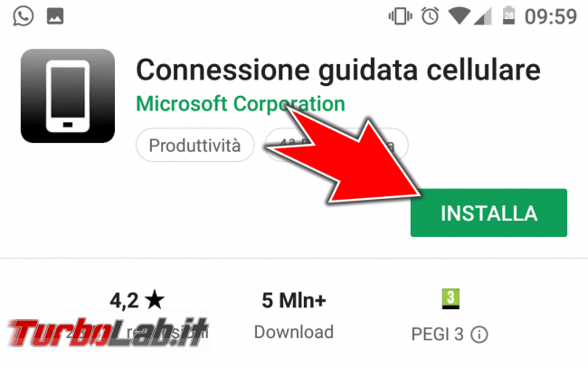 """Come collegare PC Windows 10 telefono (smartphone) Android: guida rapida """"Connessione guidata cellulare"""" - Screenshot_20171007-085440"""