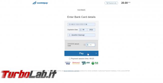 Come comprare Bitcoin, Ethereum altre criptovalute carta credito 2020: video-guida Switchere (alternativa facile Coinbase) - 85_switchere_carta_credito