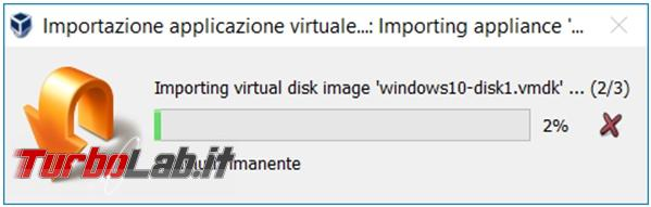 Come convertire macchina virtuale Vmware player VirtualBox