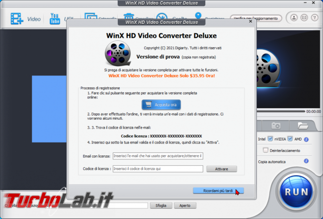 Come convertire video 4K/UHD smartphone/tablet Android, Smart TV console: guida WinX HD Video Converter Deluxe (conversione MP4, H.264, AAC) - zShotVM_1617222365