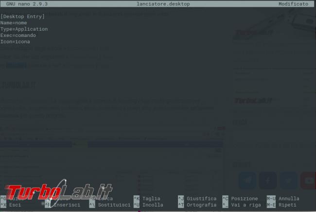 Come creare collegamento (lanciatore applicazioni) Ubuntu derivate