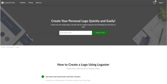 Come creare logo: 5 migliori creatori logo online - FrShot_1624892535_