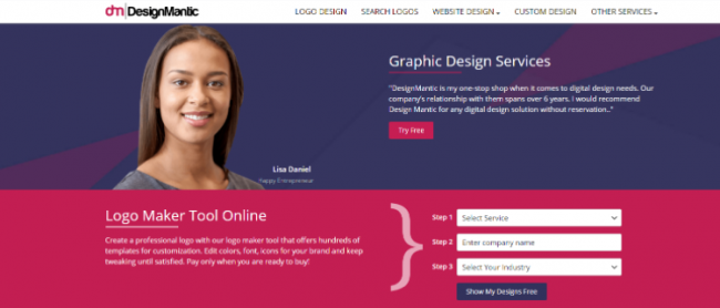 Come creare logo: 5 migliori creatori logo online - FrShot_1624893502_