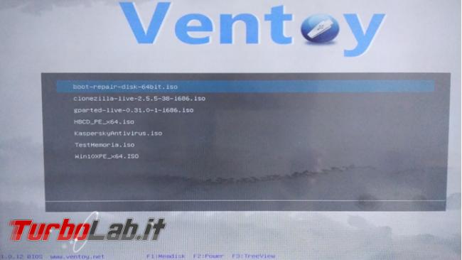 Come creare pendrive multiboot Ventoy