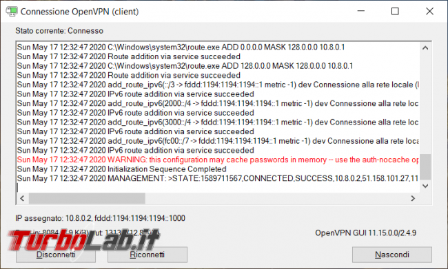 Come creare server VPN OpenVPN 5 minuti