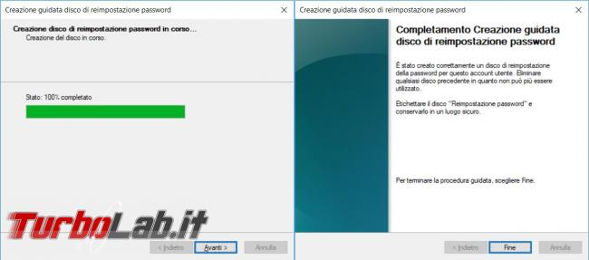 Come creare usare pendrive resettare password Windows