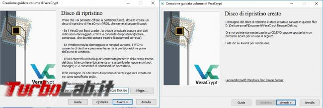 Come criptare disco sistema Veracrypt