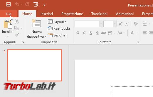 Come disattivare accelerazione hardware Microsoft Office 2019 - CatturaSchermo_1567368553