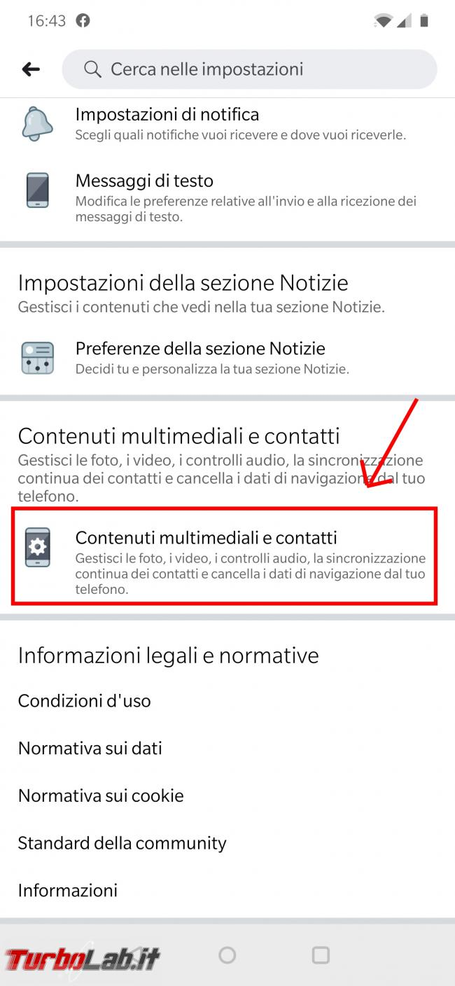 Come disattivare audio automatico video Facebook - Screenshot_20191023-164348