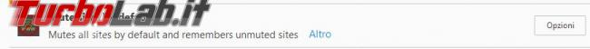 Come disattivare automaticamente audio schede Firefox