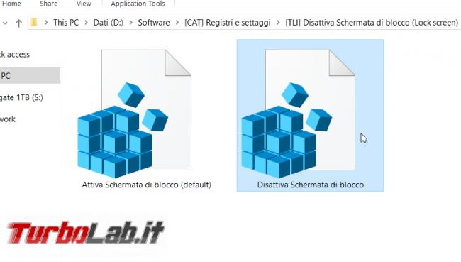 Come disattivare Schermata blocco Windows 10 (Lock screen, NoLockScreen) - disattiva schermata di blocco reg