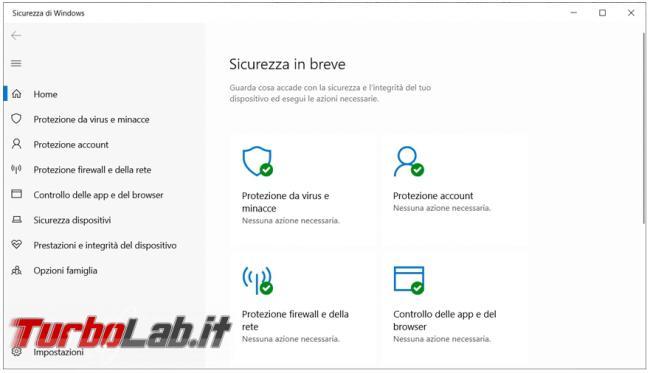 Come disattivare temporaneamente Windows Defender inserire file esclusioni