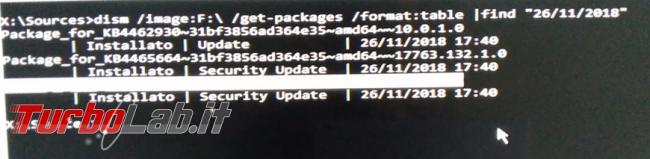 Come disinstallare aggiornamenti Windows 10 quando sistema operativo non si avvia più