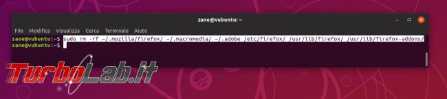 Come disinstallare / rimuovere completamente Firefox Ubuntu (guida)