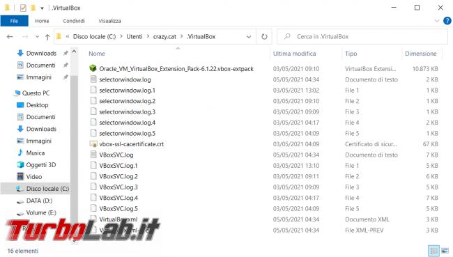 Come eliminare l'ID evento 12 errore causato driver VBoxNetLwf VirtualBox