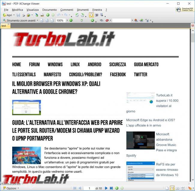Come eliminare oggetti inutili pagina web prima stampare
