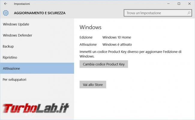 Come eseguire l'aggiornamento Windows 10 tramite Windows Update