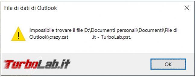 Come estrarre profilo posta Microsoft Outlook registro configurazione