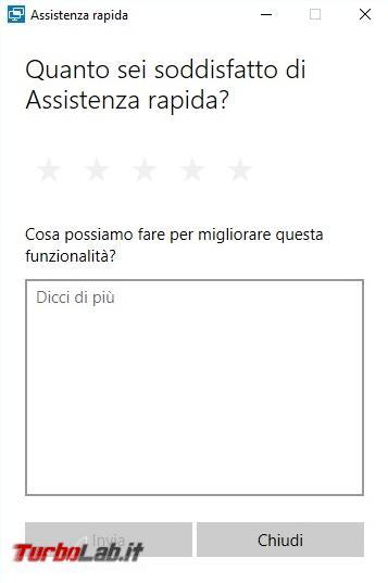 Come fare assistenza remota Windows 10