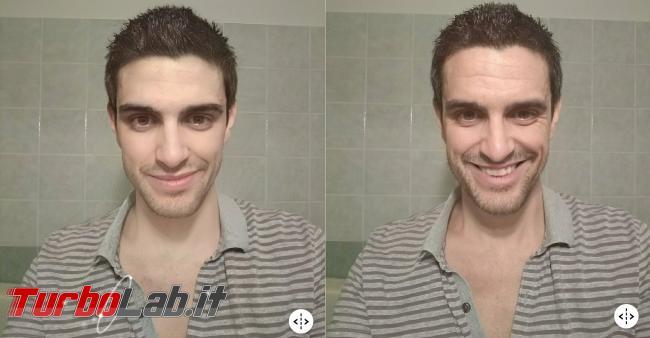 Come fare foto vecchi Facebook - zane faceapp giovane sorridente
