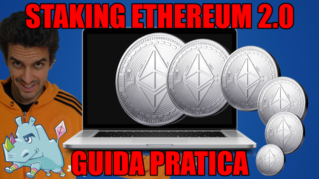 Come fare staking Ethereum 2.0: Guida Definitiva configurare tutto guadagnare interessi (testnet Pyrmont mainnet, video) - staking ethereum spotlight