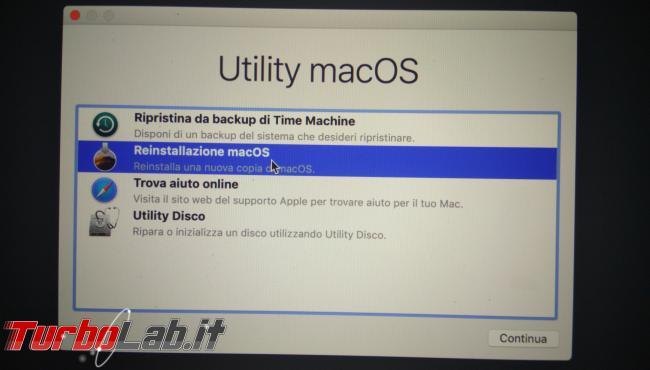 Come formattare reinstallare macOS 11 Mac MacBook (guida) - PHO_20190908_191206_1