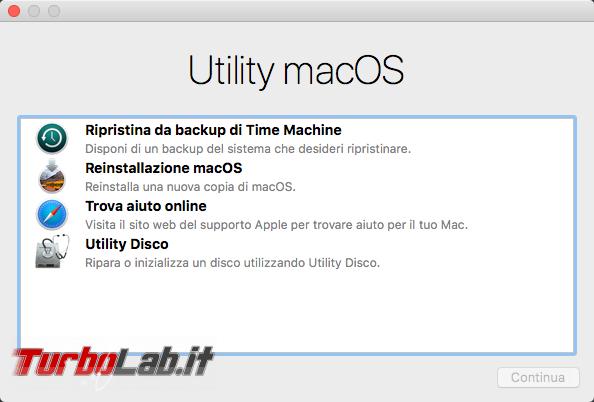Come formattare reinstallare macOS 11 Mac MacBook (guida) - VirtualBox_macOS_12_10_2017_13_48_21