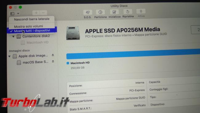 Come formattare reinstallare macOS Mac MacBook (guida) - PHO_20190908_190700_1
