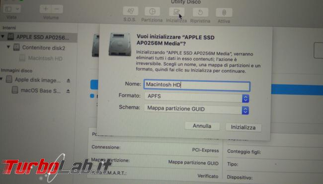Come formattare reinstallare macOS Mac MacBook (guida) - PHO_20190908_190900_1