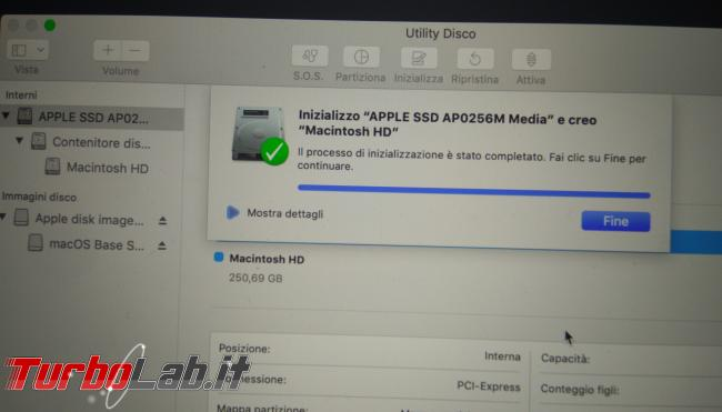 Come formattare reinstallare macOS Mac MacBook (guida) - PHO_20190908_190951_1
